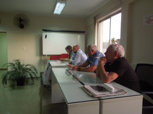 Assembleia com trabalhadores da Ceagesp no Sindbast sobre a PLR - 29 de agosto de 2016