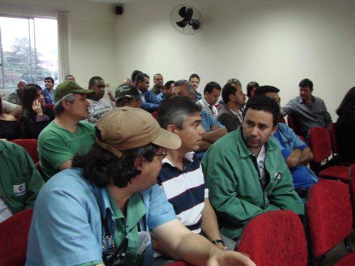 Assembleia para votação do Acordo Coletivo - Agosto de 2012