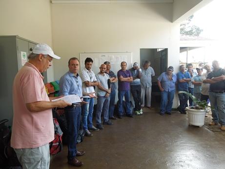 Reunião de trabalhadores da Codasp em Campinas - 11 de abril de 2016