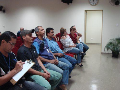 Assembleia de trabalhadores da Ceagesp - Abril de 2012