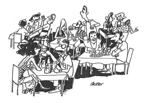 bar - restaurante - happy hour