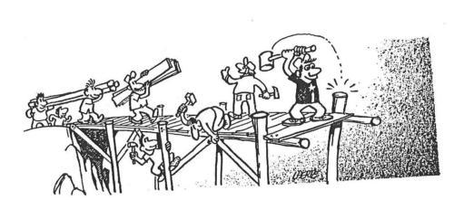 construindo ponte