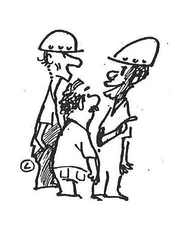 conversa - falando - explicando - pião