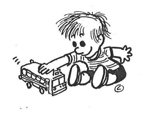 criança - brincando - carrinho
