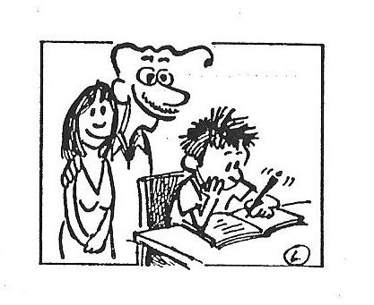 família - estudo - filho
