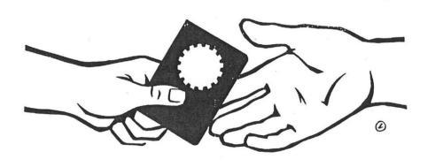 mãos - CLT carteira de trabalho