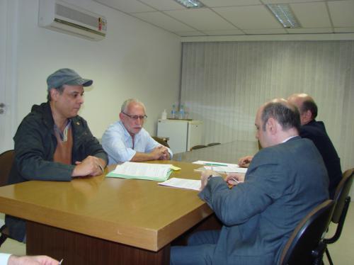 Assinatura do Acordo Coletivo da Codasp - Outubro de 2011