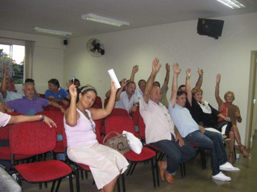 Assembleia para sugestões para a pauta de reivindicações - Março de 2013