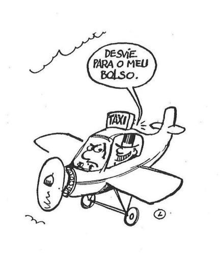 avião - desvio - corrupção