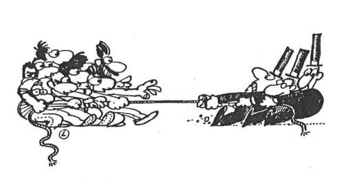 cabo de guerra - força