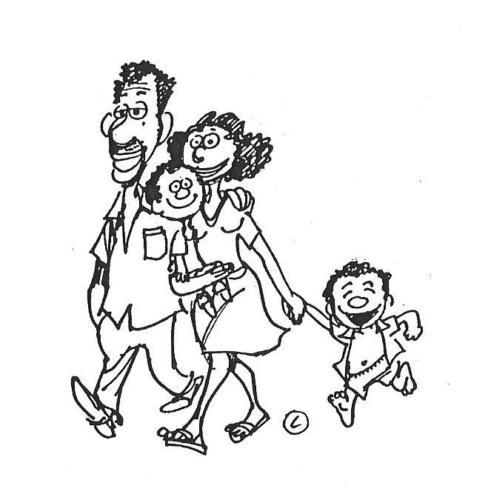 família - passeio