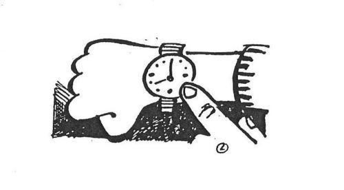 relógio - hora